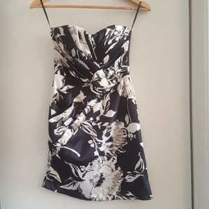Strapless cocktail dress Small